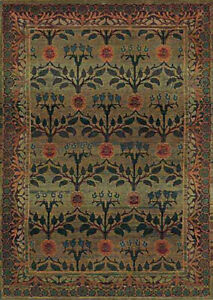 2x8 Runner Sphinx Persian Floral Green 450G Area Rug - Approx 2' 6'' x 9' 1''