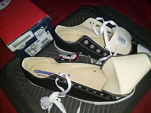 CONVERSE VINTAGE ALL STAR M9166 NIB MENS BLACK LO -TOPS MADE IN USA BOXED TAGS!