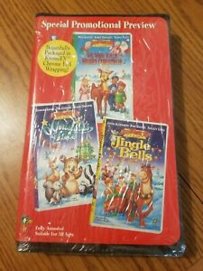 We Wish You A Merry Christmas, O' Christmas Tree, Jingle Bells 3 in 1 VHS (1999)