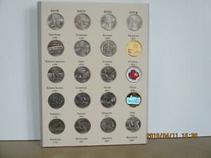 50 UNCIRCULATED  STATE Quarters  COMPLETE SET   albumfolder    EXTRAS!