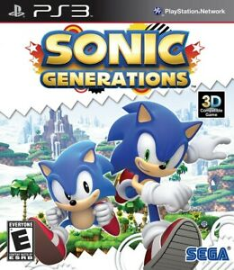 Sonic Generations - Playstation 3 Game