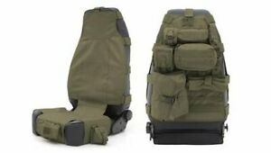 Smittybilt 5661031 Seat Cover GEAR Seat Cover OD Green Front