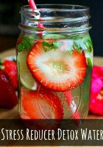 New Recipe Stress Reducer Detox Water Homemade Recipes That You Would Love