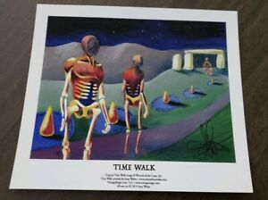Archival Time Walk by Amy Weber Original Print/Giclee = SIGNED/5 x 7