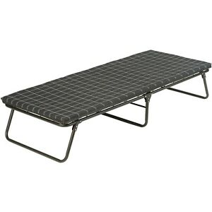 Coleman Camping Cot with Sleeping Pad  Folding ComfortSmart Camp Cot with Mattr