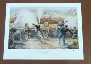 Dale Gallon Civil War Print Fire at the Angle Signed amp; Numbered Edition 545 1863 $179.99