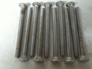 Stainless Steel Carriage Bolt  1/2
