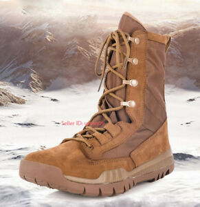 Mens Womens Army Tactical Boots Work Military Patrol Desert Combat Hiking Shoes