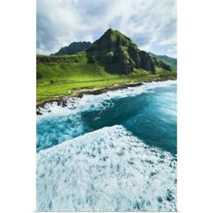West Oahu Poster Art Print Mountain Home Decor