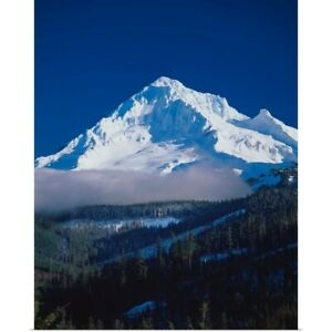 Mt. Hood XIII Poster Art Print Mountain Home Decor