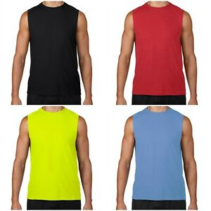MEN'S TANK TOP T SHIRT FOR SPORTS BODYBUILDING WORKOUT GYM $5.39