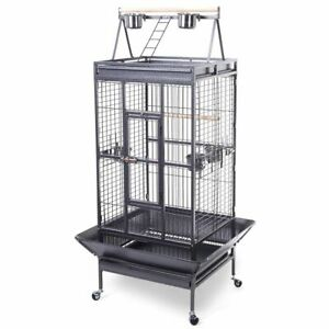 Cockatoo Pet Supply 2016 Style Bird Cage Large Play Top Parrot Finch Cage Macaw