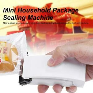 Portable Mini Home Heat Bag Sealer Sealing Machine Packaging Bag Plastic Fo C0O7