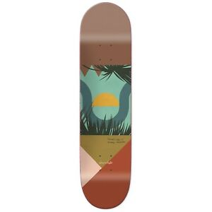 Chocolate Anderson Hecox Tropical Skate Deck Green 8.5 w MOB Grip
