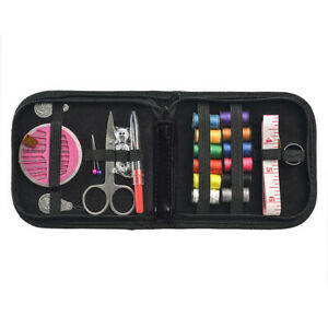 Mini Beginner Sewing Kit Case Set Home Travel Campers Supplies $6.46