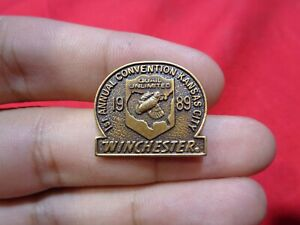 Vintage WINCHESTER Pin Hat Lapel Pin #42