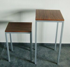 Nesting Table Stefan Patte Design High Nesting Tables Wood Steel Podium 1.Z