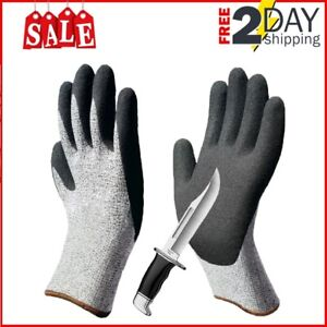 Cut Resistant Work Gloves for Mandoline,Whittling,Woodcarving,Knife,Saw,Slicer