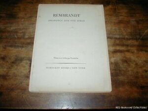 Rembrandt Drawings for the Bible 30 Prints 1947 Jael amp; Sisera FREE US SHIPPING $66.50