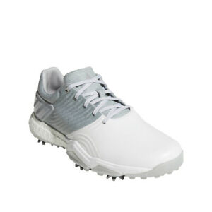 Adidas Adipower 4Orged Golf Shoes SilverWhite - Choose Size & Width