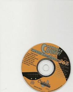 KARAOKE CHARTBUSTER CD+G COUNTRY HOT HITS CB20267  DISC # 267