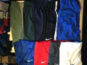 Nike Training Basketball Running Shorts New Tags Men Blue Red White Black Green