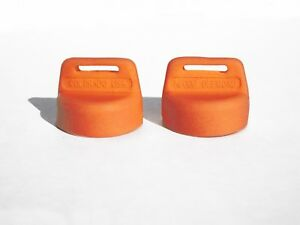 Orange Silicone Rubber Key Cover All Polaris Sportsman ATVs 1999 later 2 Pack $16.99