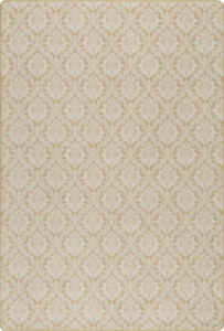 10x13 Milliken Ivory Geometric Area Rug Mount Royal GINGER - Aprx 10 9 x 13 2