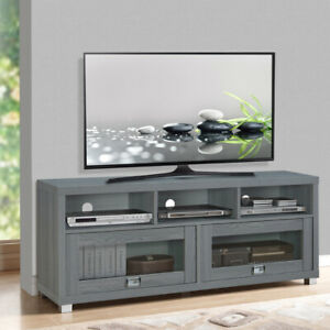 TV Stand 58 Up To 75 inch Flat Screen Home Entertainment Furniture Media Console $172.84