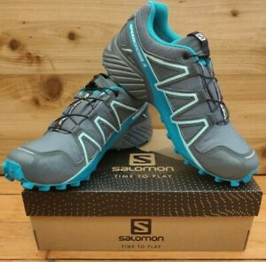 Salomon Women's Speedcross 4 GTX Size: 7.5 Color: Tropical Green Style#406109