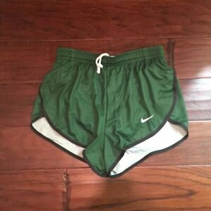 Nike Women's GreenBlack Running Shorts Sz. S NEW 418725-341 BRIEFS€