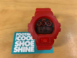 CLOT x CASIO 30TH ANNIVERSARY G-SHOCK DW-6900CL MEN'S DIGITAL WATCH RED CLEAR
