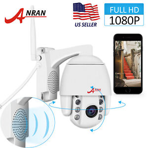 1080P Security Camera System Home 2-Way Audio Dome WiFi Outdoor Wireless IP PT