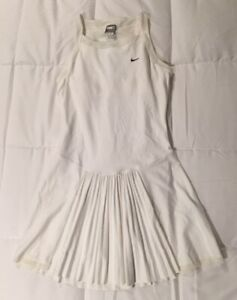 Nike Tennis Dress US Open Serena Fit Dry M NWT