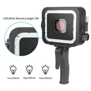 Video Underwater Led Flash Diving Light Photography Lamp for GOPRO Hero 5 6 7