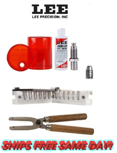 Lee 6 Cav Mold w Handles & Size and Lube Kit for 44Spec 44 Rem Mag etc 90357