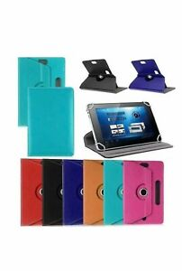 Hot 360° Folio Leather Case Cover Stand For Android Tablet PC 7 8 9 10 10.1 $8.99