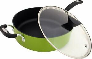 New Sauce Pan Ceramic Coating Heat Resistant with Silicon Handle for Kitchen