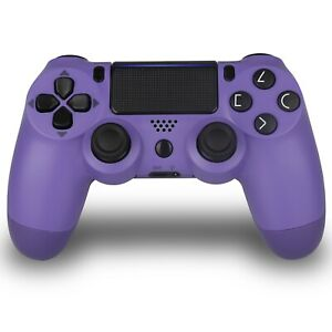 Wireless Bluetooth PS4 Controller for Dualshock PS4 PlayStation Electric Purple