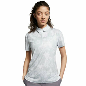 Nike Ladies Dri-Fit Uv Printed Polo - Choose Size and Color