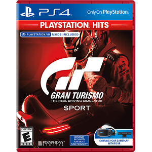 Gran Turismo Sport PlayStation Hits PS4 Brand New