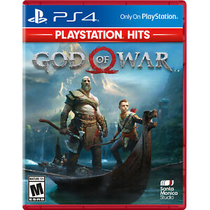 God of War PlayStation Hits PS4 Brand New