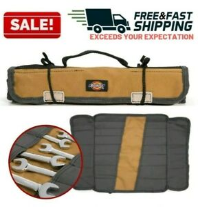 Wrench Organizer Roll Up Socket Bag Hand Tool Pouch Portable Storage Holder Case