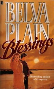 Blessings by Plain, Belva Paperback Book The Fast Free Shipping