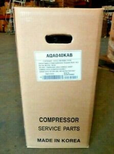 LG AQA040KAB Scroll Compressor 208-230V Volt 1ph 1 Phase HVAC R410A New Sealed