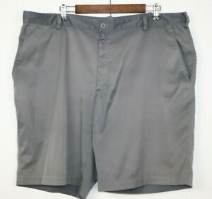 Nike Golf Dri Fit Mens Size 42 Gray Shorts Polyester Golf Causal Outdoor  EUC