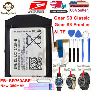 NEW Genuine Battery For Samsung Gear S3 Frontier Classic SM 760 R765 EB BR760ABE $12.96