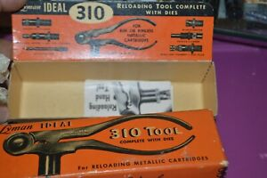 LOT #111 LYMAN IDEAL 310 TOOL EMPTY BOX