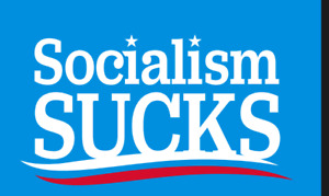 SOCIALISM SUCKS 12x18 2x3 3x5 150D Nylon Flag Protect ELECT PRES USA NO COMMIES