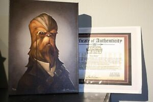 Star Wars Chewbacca First Mate Canvas Giclee Print by Greg Peltz Victorian